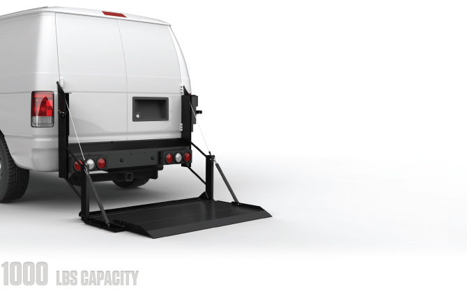 Hydraulic Lifts For Vans : Hydraulic lift gates grant county truck bodies
